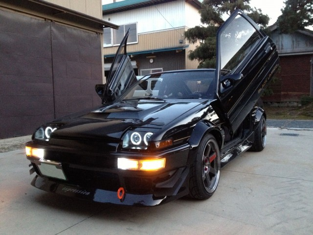 WTF: Toyota Sprinter Trueno Black Limited BP Kraft