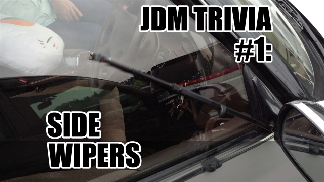 JDM Trivia #1: Side Wipers on the GX81