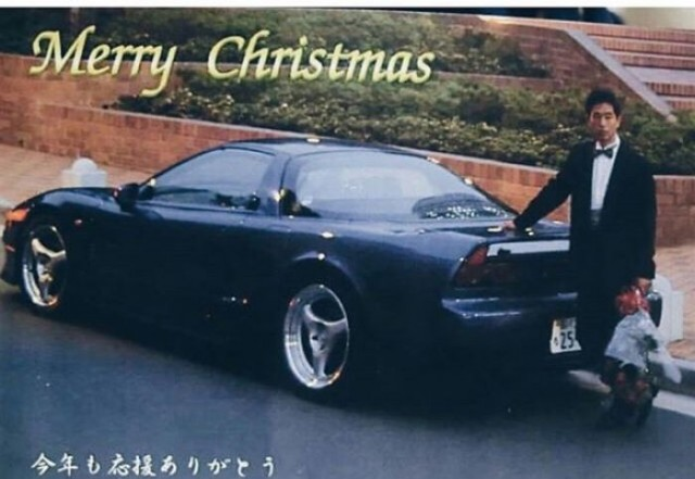 Merry Chirstmas from Keiichi Tsuchiya