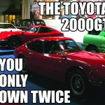 The Toyota 2000GT You Only Own Twice [Collections]