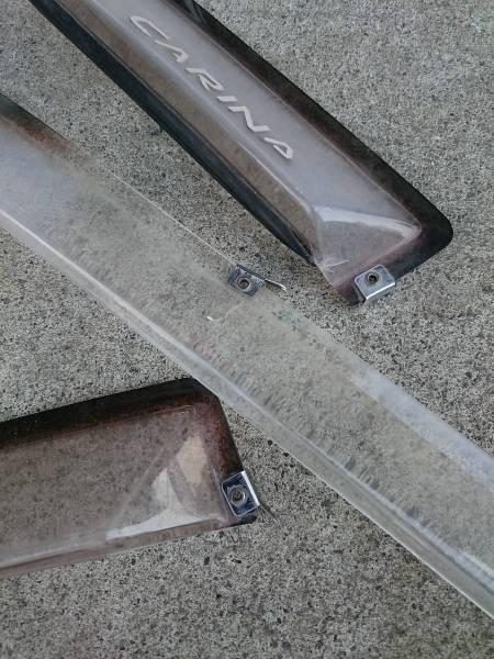 Toyota Carina wind deflectors