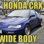 Widebody Honda CRX Mk II ED9 [Down on the Street]