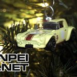 DIY JDM Christmas tree with Hot Wheels ornaments