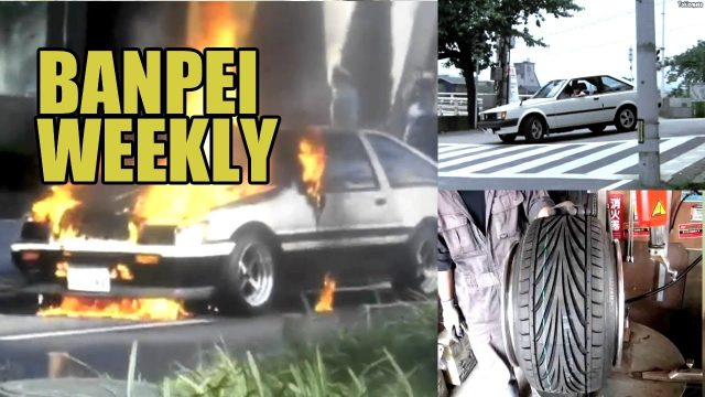 AE86 on fire and Suspicious Carina - Banpei Weekly episode 6