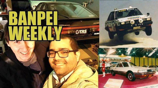 Lisbon AE86, Paris-Dakar Carina - Banpei Weekly episode 8