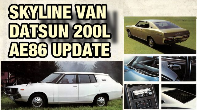 Nissan Skyline Van VBC110 - Datsun 200L - Banpei Weekly Episode 10