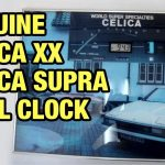 Amazing auction find: a Toyota Celica Supra MA61 wall clock