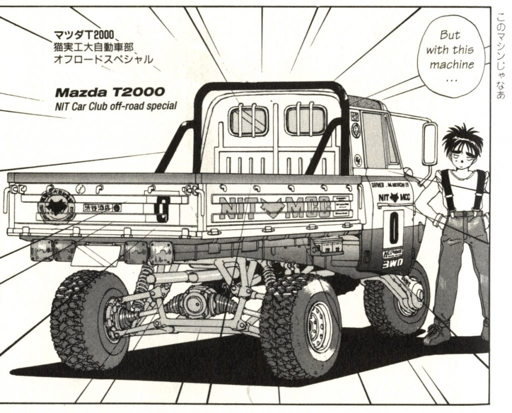 Mazda T2000 NIT CC special