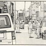 Manga Car Spotting – Nissan Silvia S13 – The Walking Man [part two]