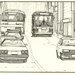 Manga Car spotting – Nissan Skyline R30 – The Walking Man [part one]
