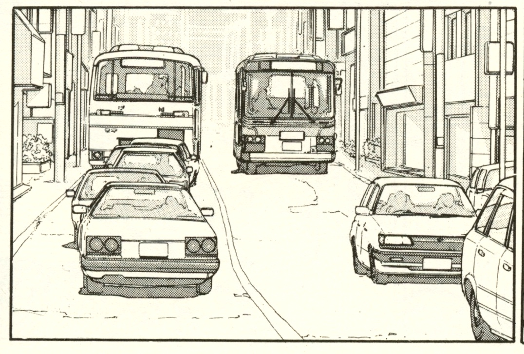 Manga Car spotting – Nissan Skyline R30 – The Walking Man [part one]