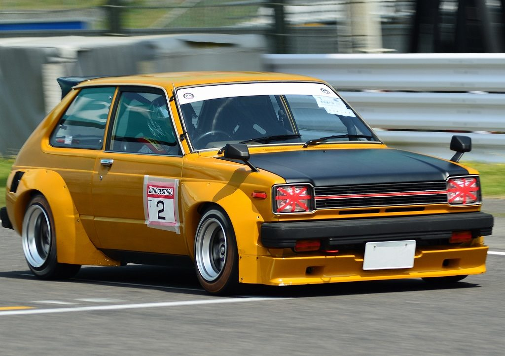 Race inspired Toyota Starlet KP61