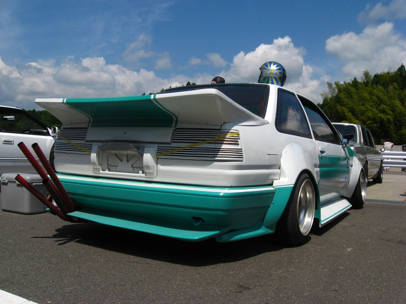 Toyota Mjollnir: Sharknosed AE86