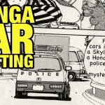 Manga Car Spotting:  Honda Today police car – Nissan Skyline R30 – You're Under Arrest part 5