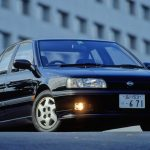 Surprisingly the Japanese Nissan Primera was slimmed down